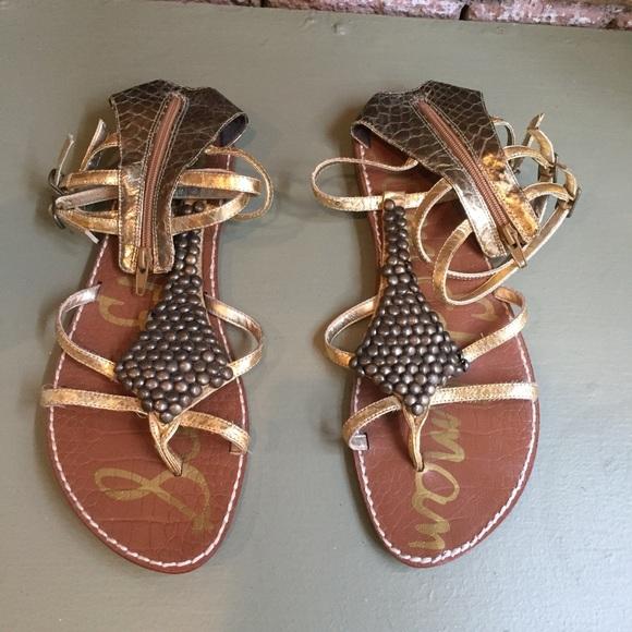 d2c13f2cbd9cb1 Sam Edelman Ginger Gladiator Sandal size 9.5. M 5ad6bffe3afbbdb95044dbd6